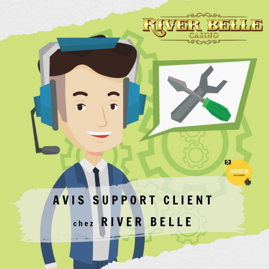 avis support client casino river belle