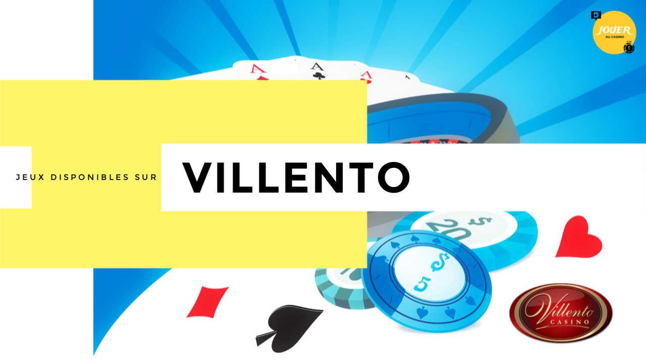 jeux casino villento