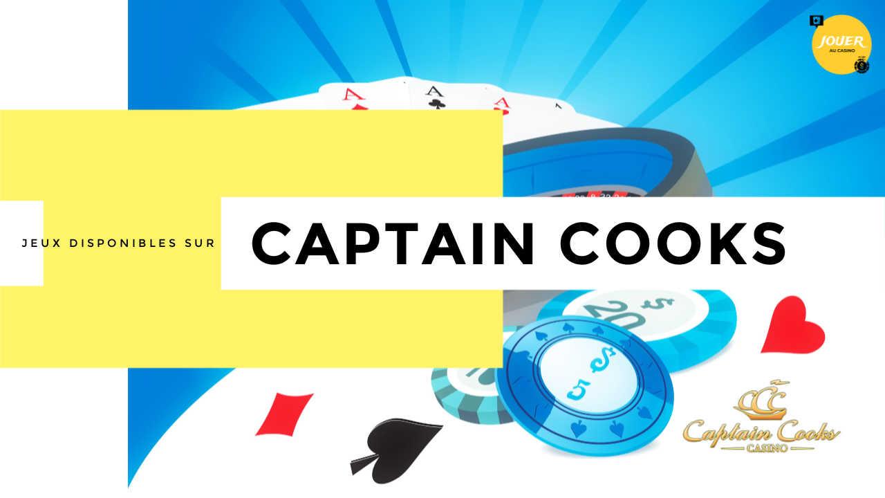 jeux casinos captain cooks