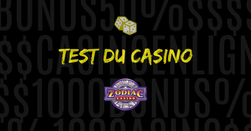 test du casino en ligne zodiac avis
