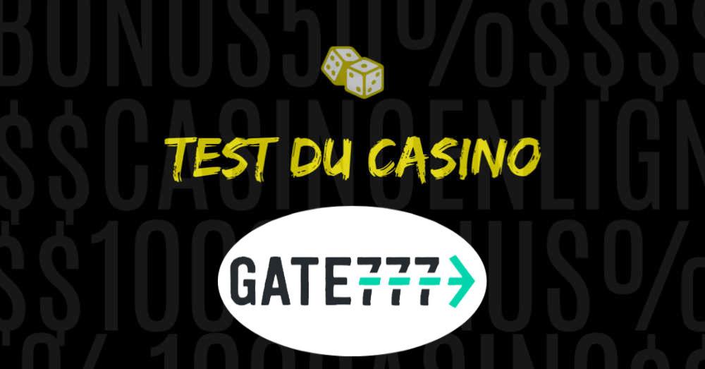 avis casino en ligne gate777