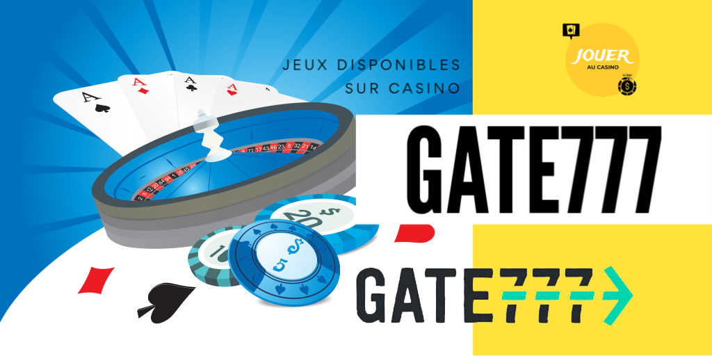 jeux disponibles sur gate777