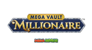 logo of the game mega vault millionaire