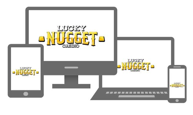 lucky nugget casino accessible sur mac pc mobile et tablette