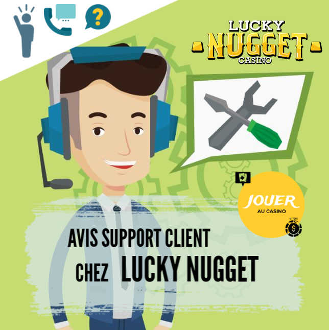 support client casino lucky nugget