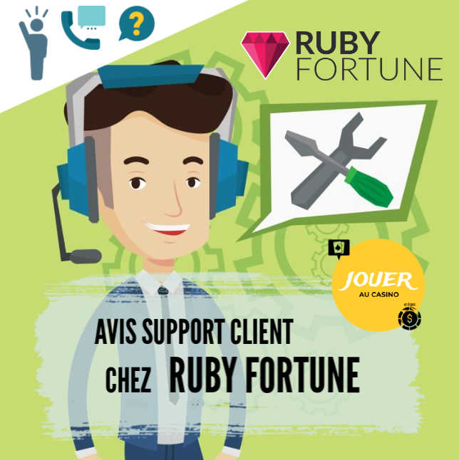 support client casino ruby fortune