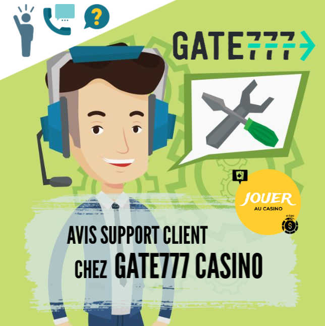 support client chez casino GATE777
