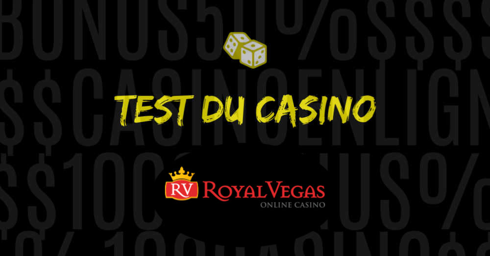 test du casino royal vegas