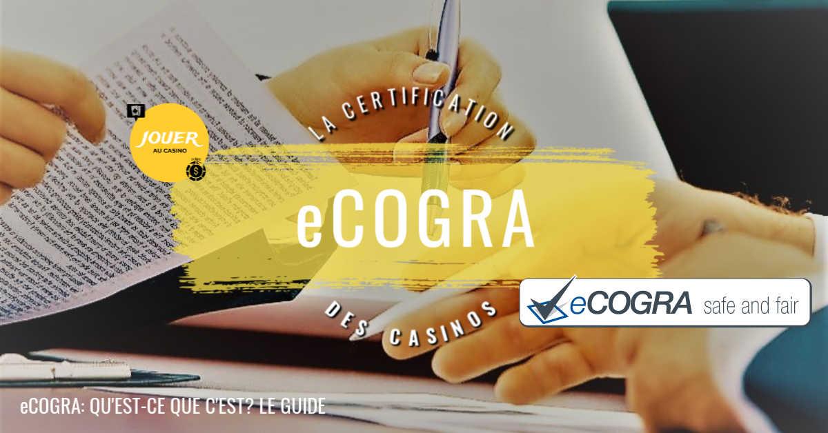 certification ecogra definition et explication