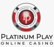logo blanc platinum play casino
