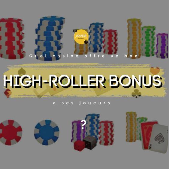quel casino offre bonus high-roller