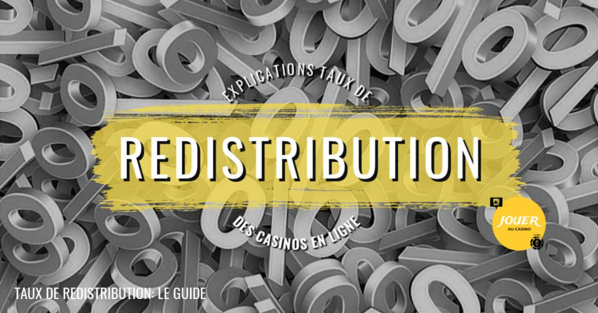 taux de redistribution casino en ligne