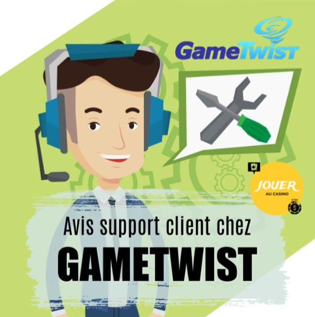 avis support client gametwist casino en ligne gratuit