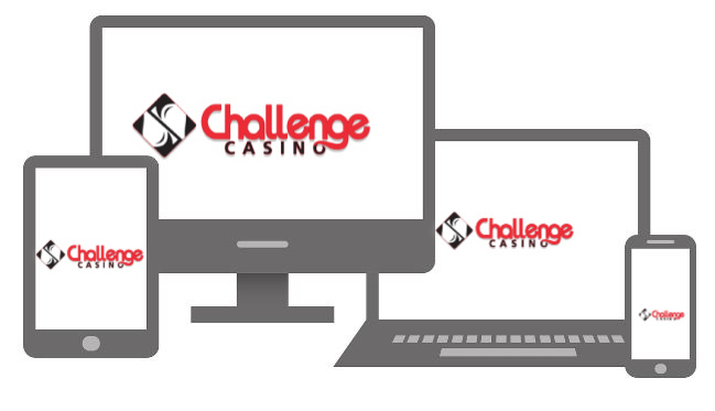 challengecasino accessible mobile tablette pc