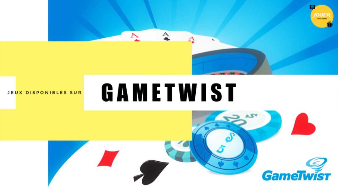 jeux disponibles sur gametwist