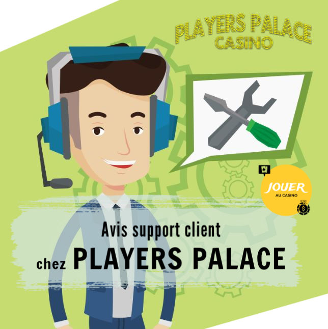 support client casino players palace