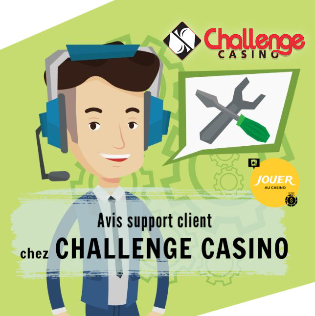 support client challenge casino