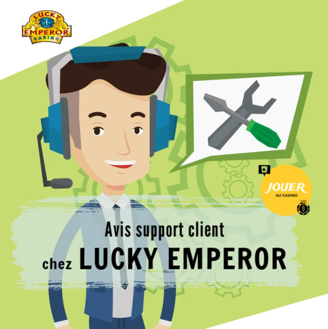 support client lucky emperor casino