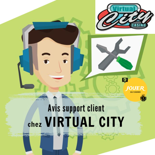 support client virtual city casino