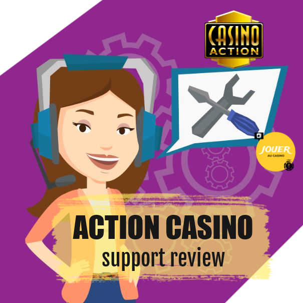 customer support at casino action