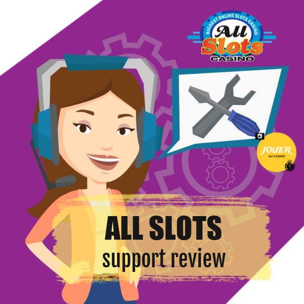 customer support allslots casino