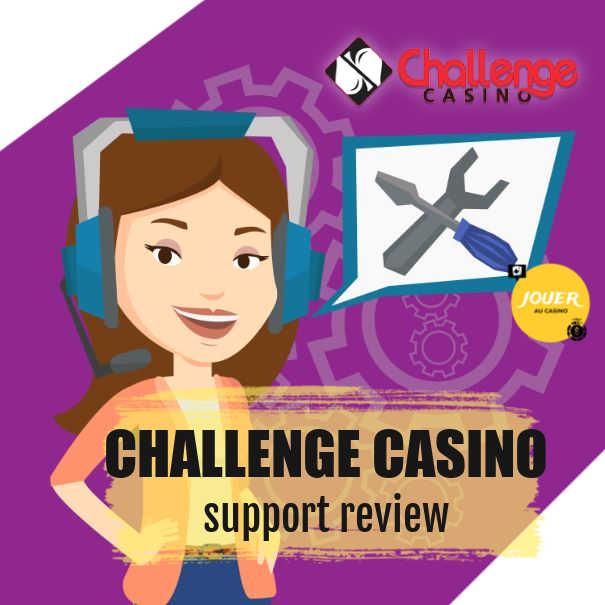 challenge casino customer support