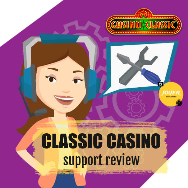 customer support at casino classic