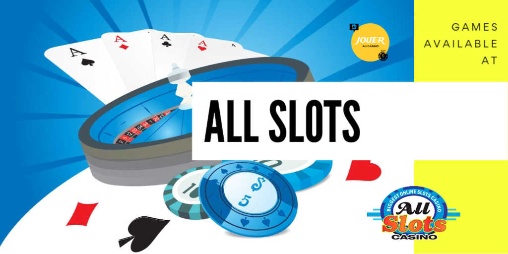 games available on allslots casino