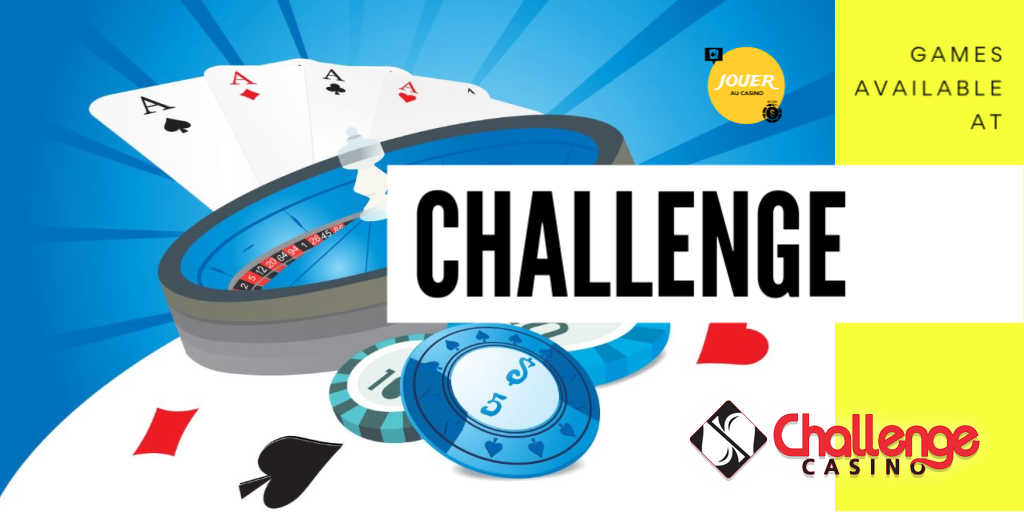 games available on challenge casino