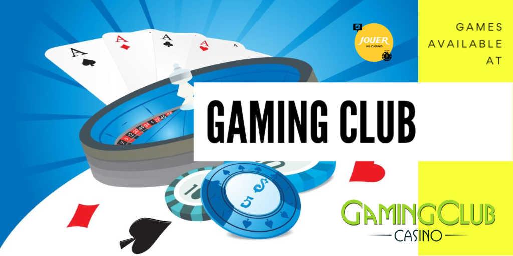 games available at gamingclub casino