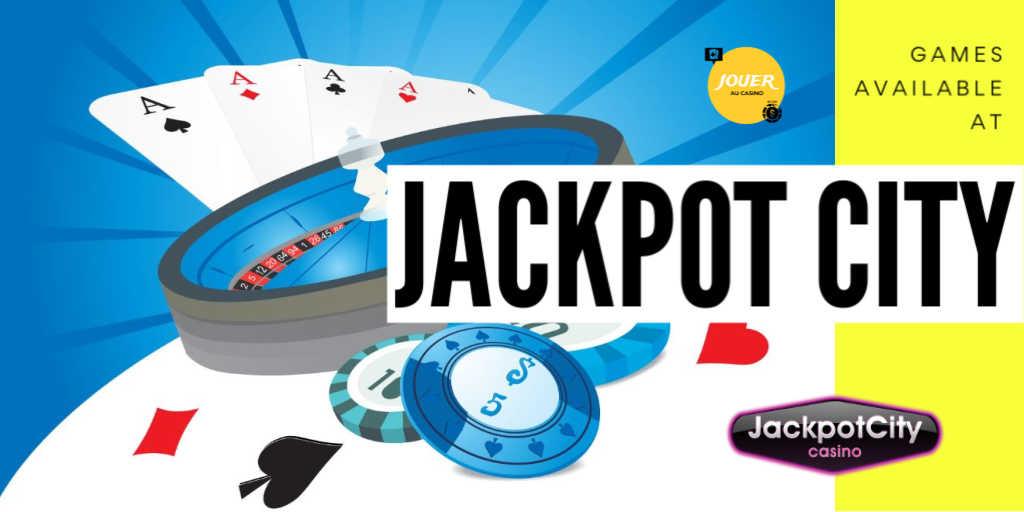 games at casino jackpot city