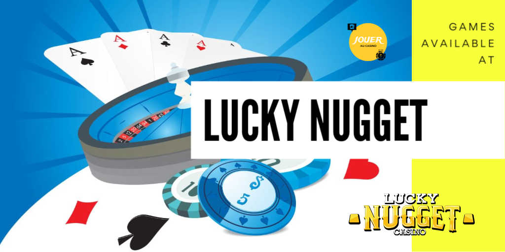 games available at lucky nugget casino