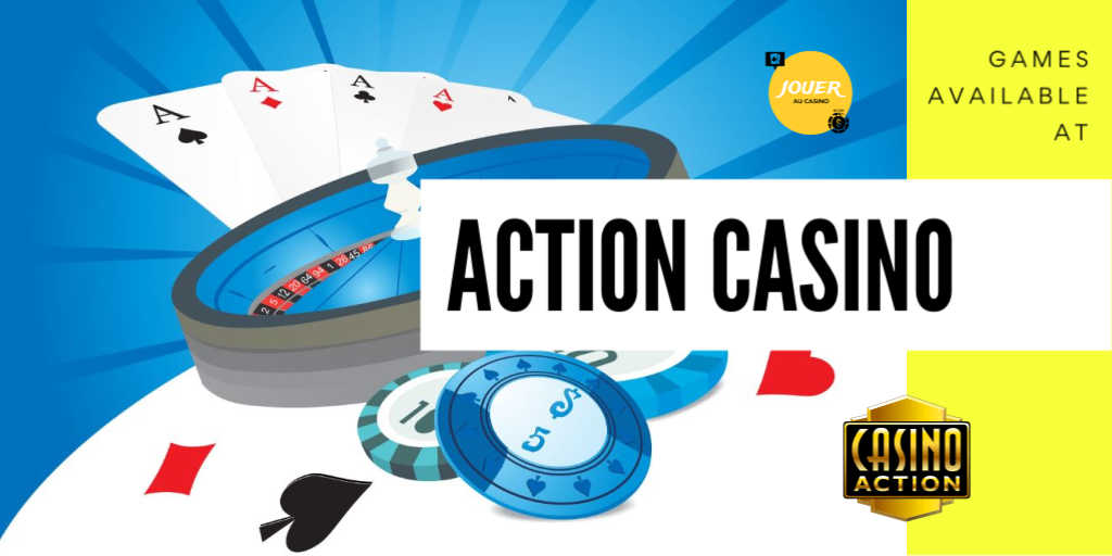 games available on casino action