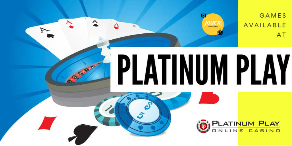 games available at platinum play