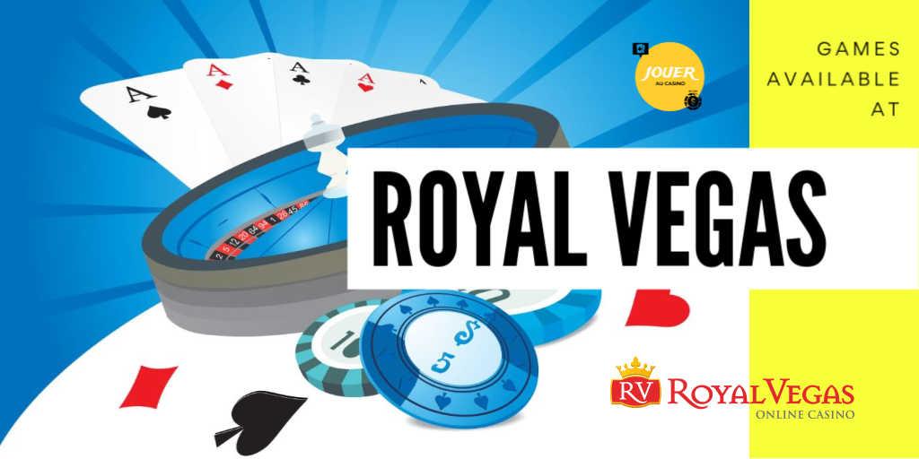 games available at royal vegas casino
