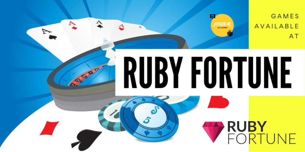 games available at ruby fortune casino
