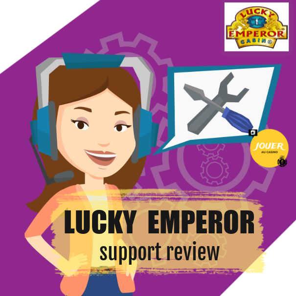 customer support lucky emperor casino