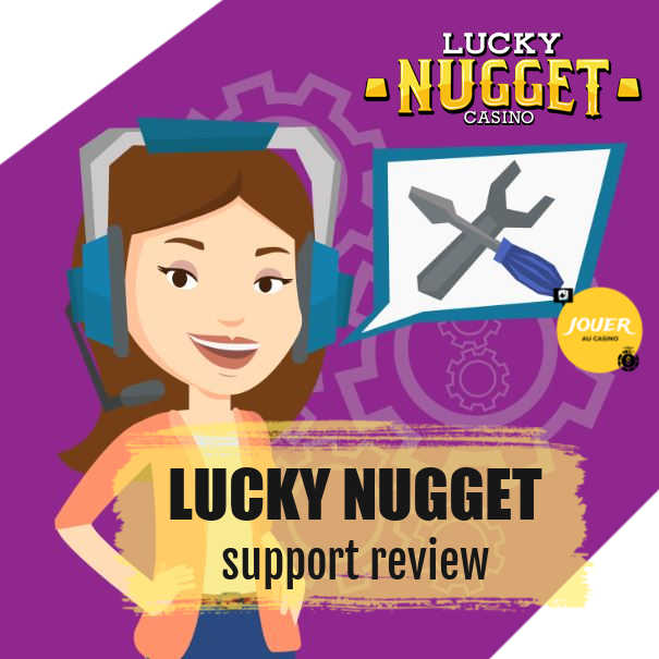 customer support casino lucky nugget