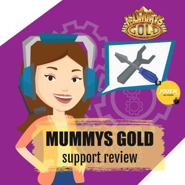 mummysgold casino customer support