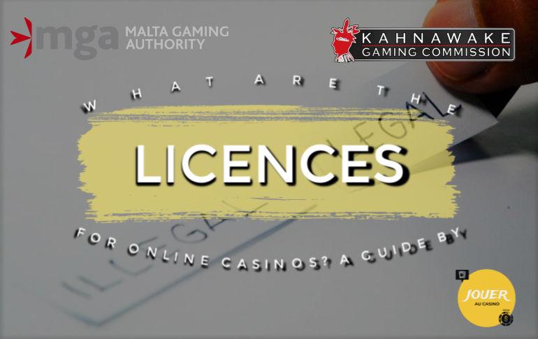 online casino gambling licenses guide