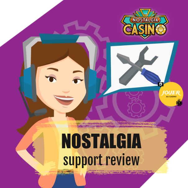 nostalgia online casino customer support
