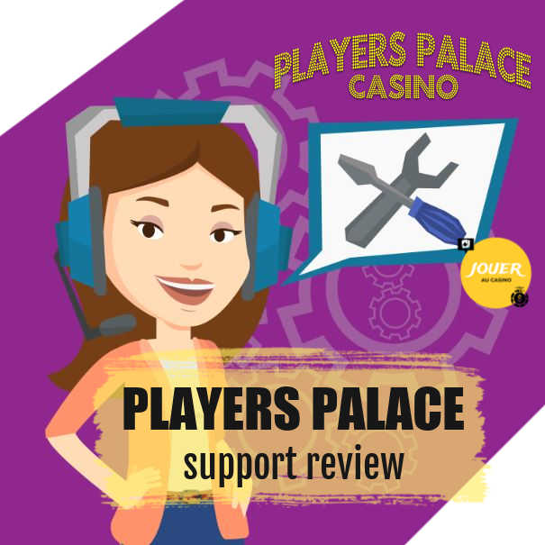customer support at players palace casino