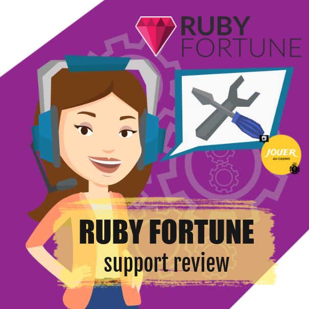 customer support casino ruby fortune