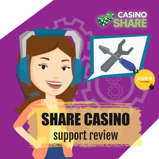 casinoshare customer support