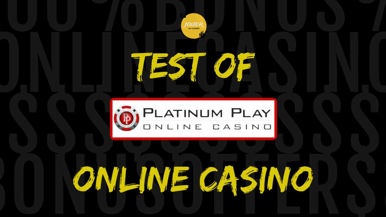 platinum play online casino test