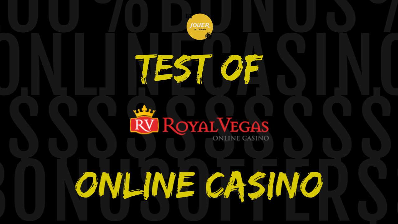 royal vegas casino test