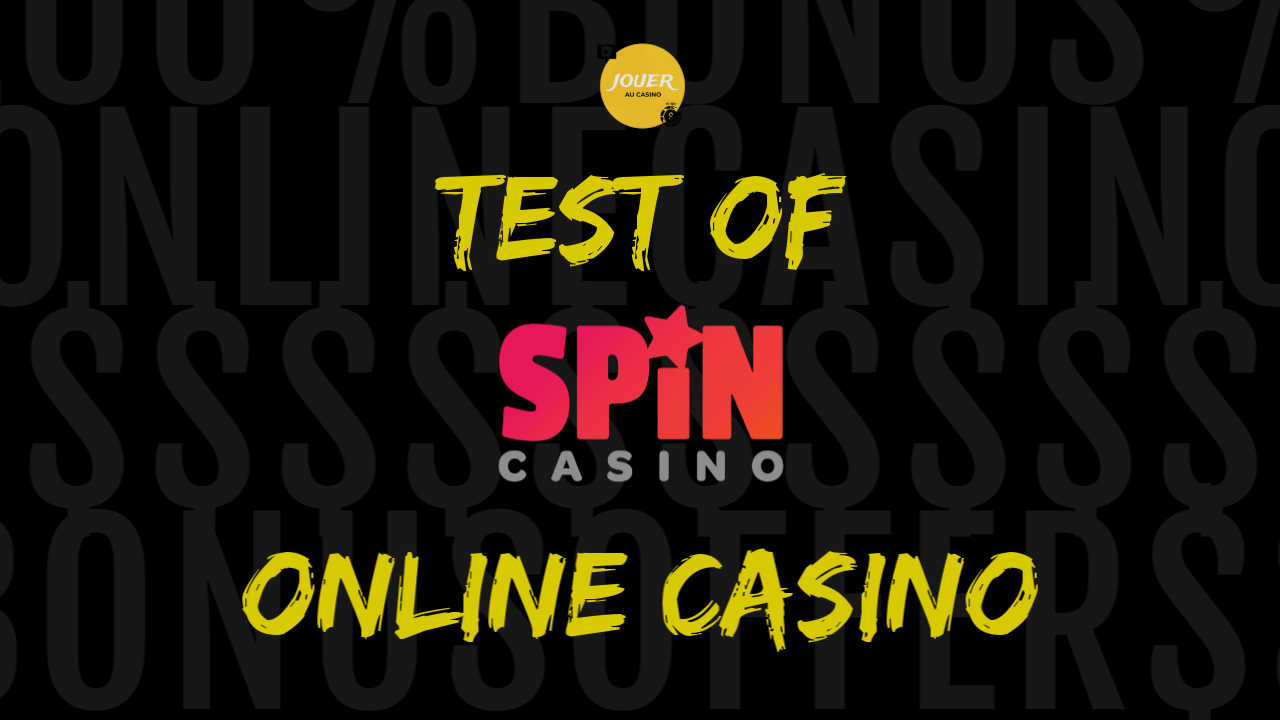test of online casino spin palace review