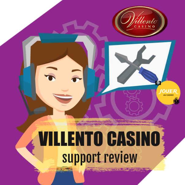 customer support review casino villento