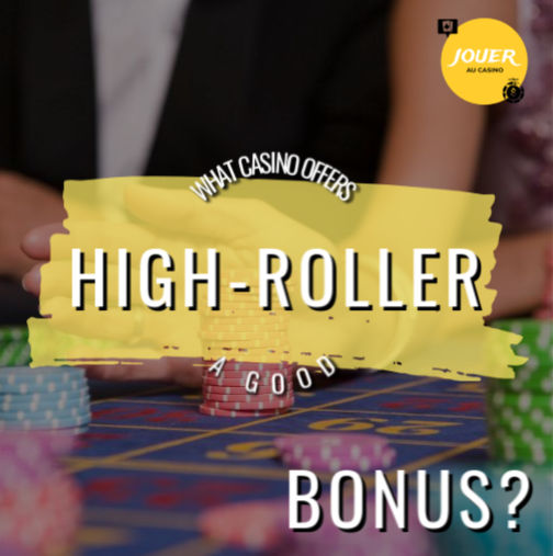 which casino offers high-roller bonus