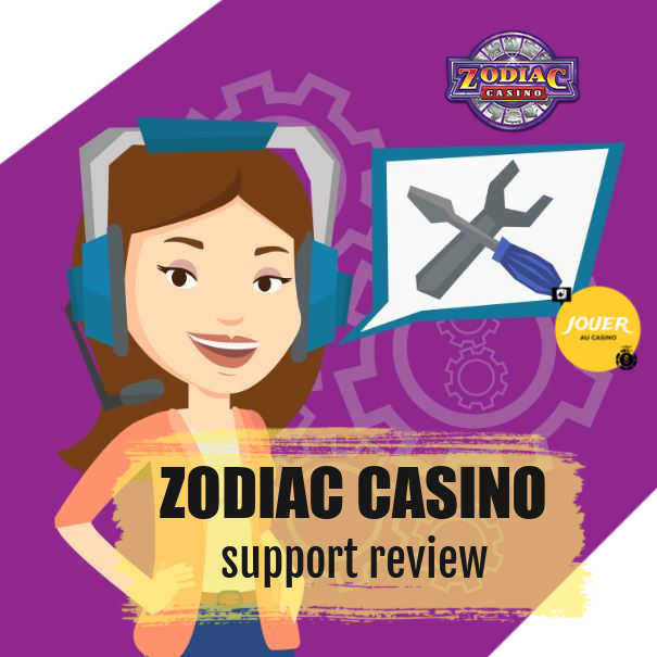 zodiac casino customer support review